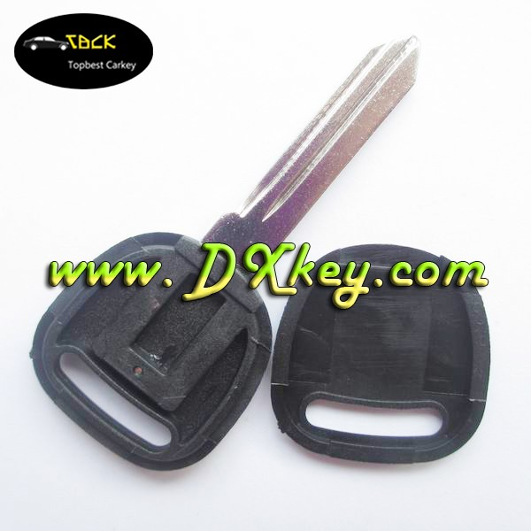 Topbest transponder key shell left blade with logo for Chevrolet blank key manufacture