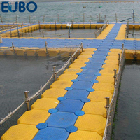 Hot selling plastic floating pontoon floating jetty