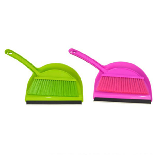 PP Plastic Dustpan and Brush Set Cleaning brush Customized