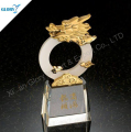 Crystal dragon shape trophy Award wholesale