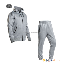 custom gym sport plain fitted sport tracksuit mens microfiber tech fleece tracksuit