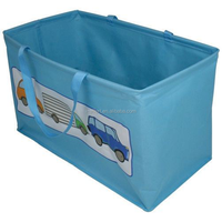 Foldable Fabric Collapsible Storage Cube