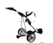 Battery Powered Operated Remote Control Golf Carts For Sale Golf Trolley With Seat
