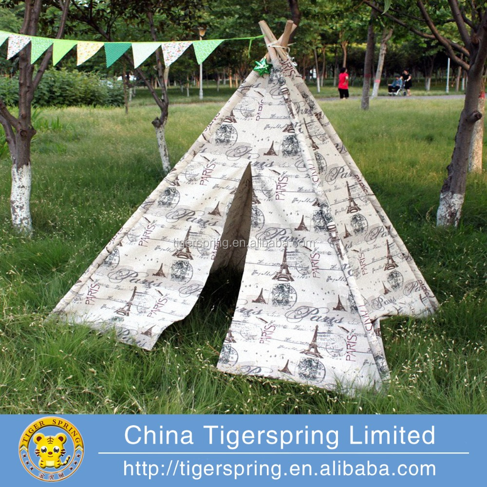 Indian teepee tent kids play tent game house for children
