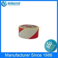 Printed PE hazard warning reflective tapes Plastic Barricade Tapes