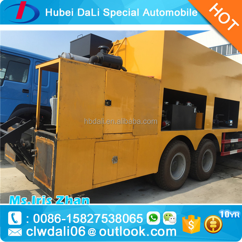 HOWO 6*4 slurry Seal Paver for sale
