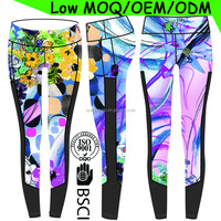 (Factory/low MOQ)Yoga pants indian manufacturers, Comfortable Colorful nylon spandex yoga leggings