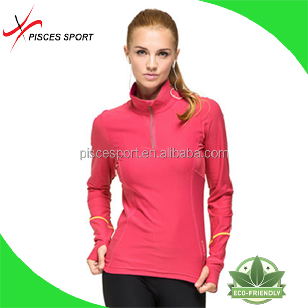 long sleeve bowling shirts for woman made in China
