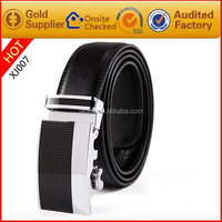 Wholesale Man Belts Stainless steel Buckles Genuine Leather Mens Belt for business men