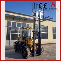 Forklift machine four wheel off road forklift trucks