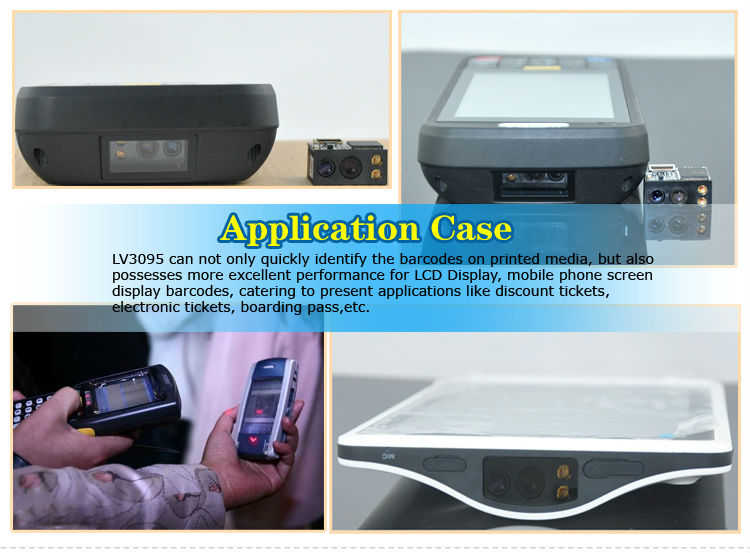 LV3095 Cheap OEM CMOS 1D 2D Automotive Scanner with Easy Embedding into Handheld POS