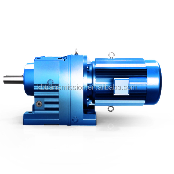 SEW style power transmission high torque reducer low speed reduction helical gearbox for Cranes gear motor
