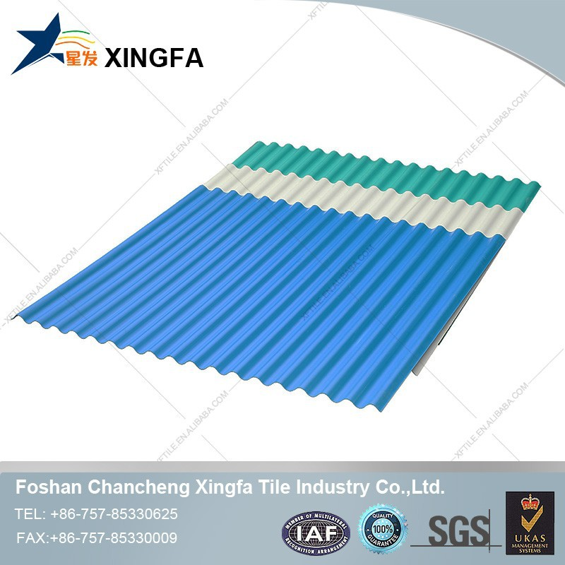Building Material Corrugated PVC Transparent Roofing tiles Xingfa PVC Roof Tile