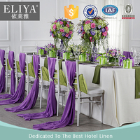 ELIYA High Grade Restaurant Used Round Banquet Tableclothes for sale