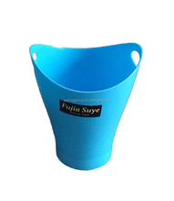 Plastic desk garbage can dustbin