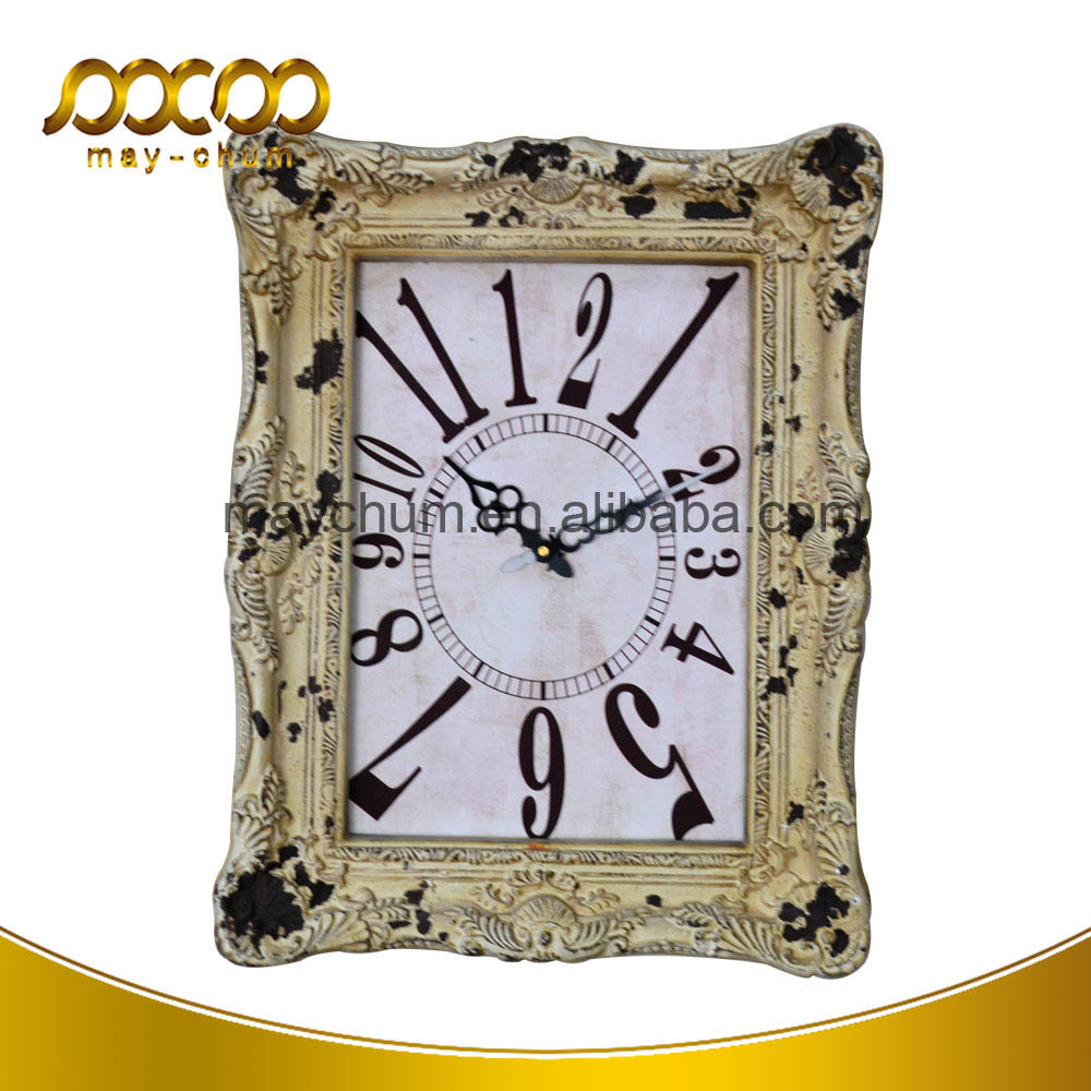 2016 Wholesales Watch Antique Digital Decorative Wall Mounted Clock