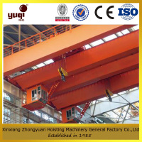 drawing customized double girder overhead crane trolley