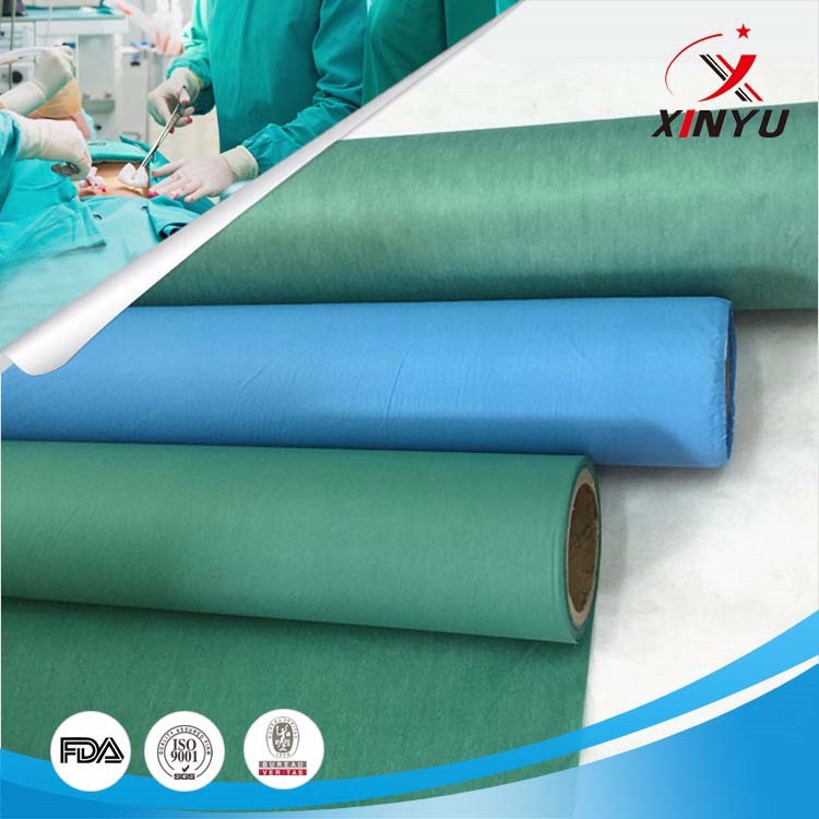 nonwoven fabric with pe
