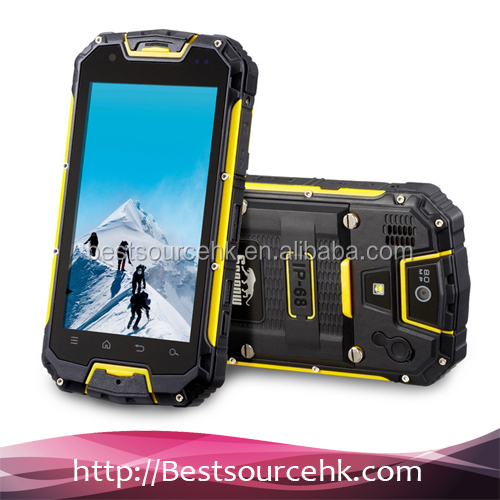 2014 New Waterproof Shockproof Dustproof Dual Sim Card Android Mobile Phones for Sale