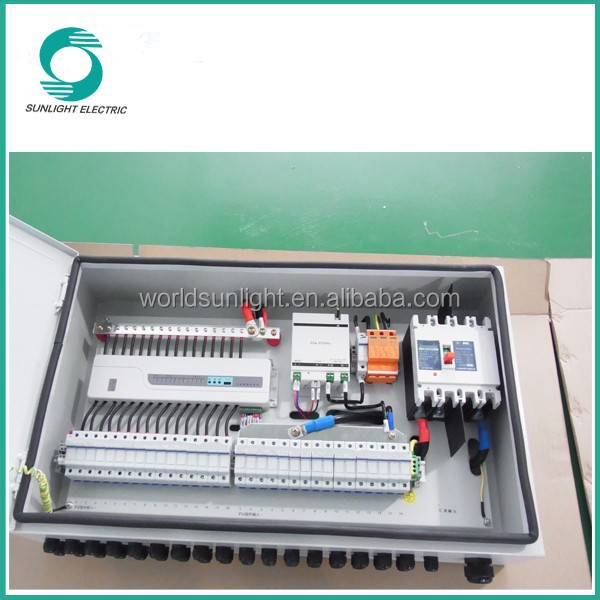 DC fuse rating 15A pv solar combiner box junction box ip67