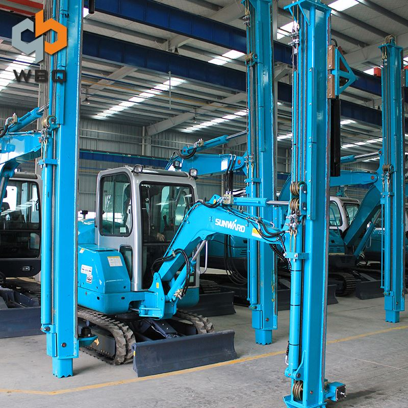 Quick Delivery High Efficiency Hydraulic Pile Driving Machine