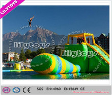 2018 hot selling inflatable water sports equipment, inflatable floating water park, inflatable water sport game for lake