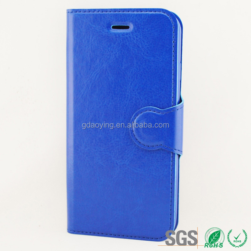 OME custom flip leather cover case for Iphone 6
