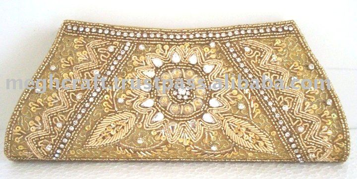 WHOLESALE INDIAN ETHNIC CLUTCH PURSE-PARTY CLUTCH PURSE-BRIDAL PURSE