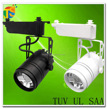 TUV SAA COB 20w led track light AC85-245v