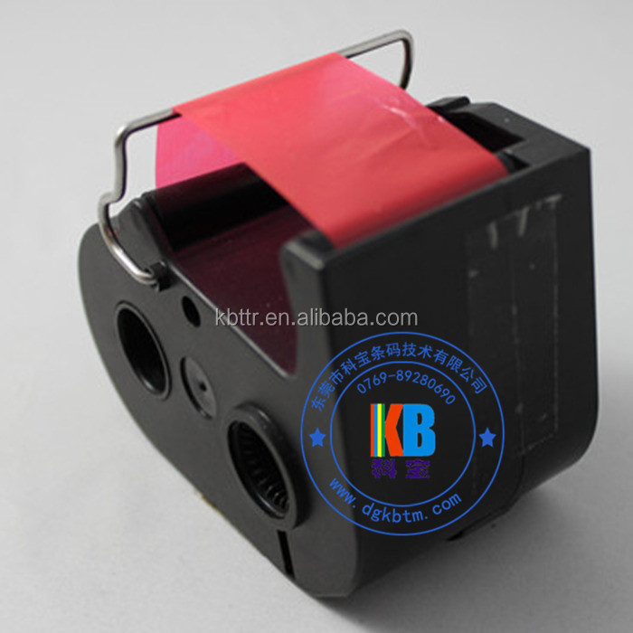Frama ecomail red ribbon compatible ink cartridge for postmark stamping