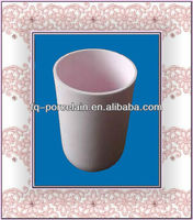 High purity Al2O3 alumina ceramic smelting crucible for high temperature furnace working