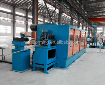 2.5 Ton / Hour 17Mm Rod Copper Bar Cold Rolling Mill With Separate Motor
