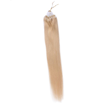 High Quality Vietnamese Micro Ring Loop Hair Extensions Remy Straight #24 Micro Link Beads Human Hair Extension