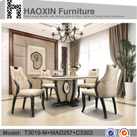 Luxury Dining Room Table And Marble