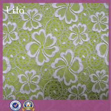 latest floral lace for fashion dress