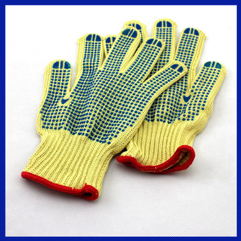 2017 Yhao Food Grade Cut Level 5 Cut Resistant Gloves with Heat Resistant Silicone Coated Palm Kitchen Gloves