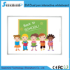 China NEWest HPL surface Electromagnetic Dual pen Interactive Whiteboard for kids