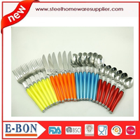 new style 24 pieces stainless steel cutlery set