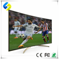 55 inch black color LED TV 4K Ultra HD android smart LED television