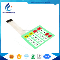 China Custom Made 4x5 Keys Matrix Array Waterproof Push Button Dome Membrane Switch