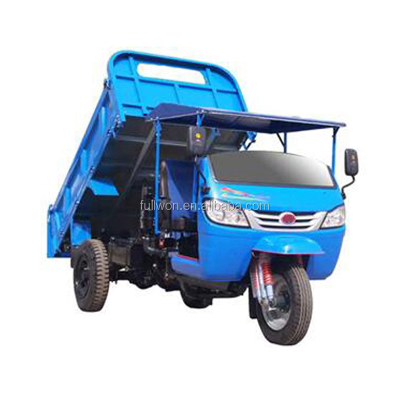 Quality-Assured motorcycle truck 3-wheel tricycle/garbage truck