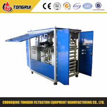 ZJA turbine oil regeneration recycling machine/waste oil filter system