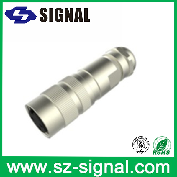 M16 12pin DIN assembly type circle connector factory price