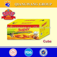 MUSLIM CHICKEN TABLET BOUILLON CUBE 10g/pc,60pcs/box,24boxes/carton