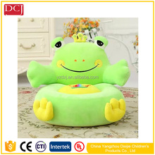 frog kids chair animal shape manufacturer plush sofa chair