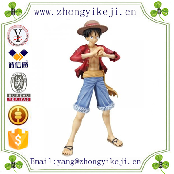 factory custom-made handmade carved fashion polyresin japanese clay cartoon figure