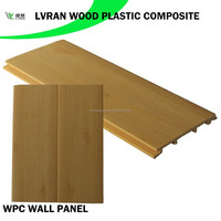 wood plastic composite waterproof bathroom wall board