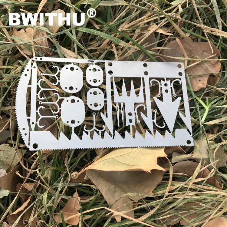 2017 New design high quality multi tool card wilderness survival stainless steel multi tool