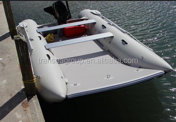 High speed 2 person sailing catamaran fishing boat with CE certificate