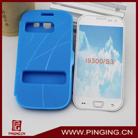 latest Flip window tpu cover case for samsung galaxy s3 i9300